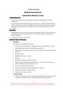 List Of Skills For Resume Receptionist by Cover Letter Front Desk Receptionist Resume Cover