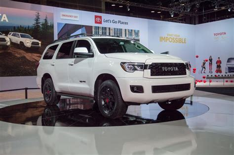 2020 Toyota Sequoia Trd Pro Dents Planet's Crust As It