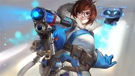 overwatch mei wallpaper   wallpapers