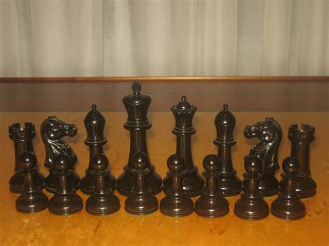 post your vintage staunton chess sets here chess