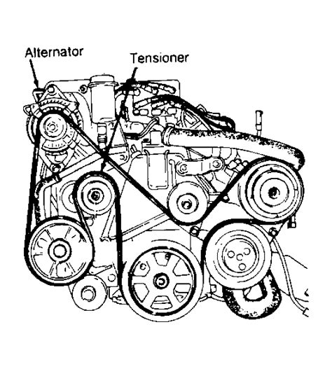Dodge 33 Serpentine Belt Diagram by I Need A Belt Diagram For A 93 Fifth Avenue And I Need To