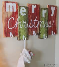beyond the picket fence 12 days of christmas day 2 scrap wood stocking hanger