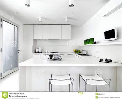 white contemporary kitchens white modern kitchen stock photo image of style sink 1017