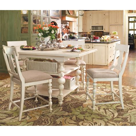 30443 paula deen dining paula deen home counter height dining table set with 16