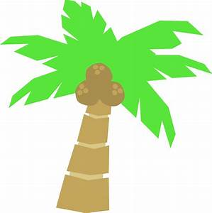 Palm tree clip art 5 - Clipartix