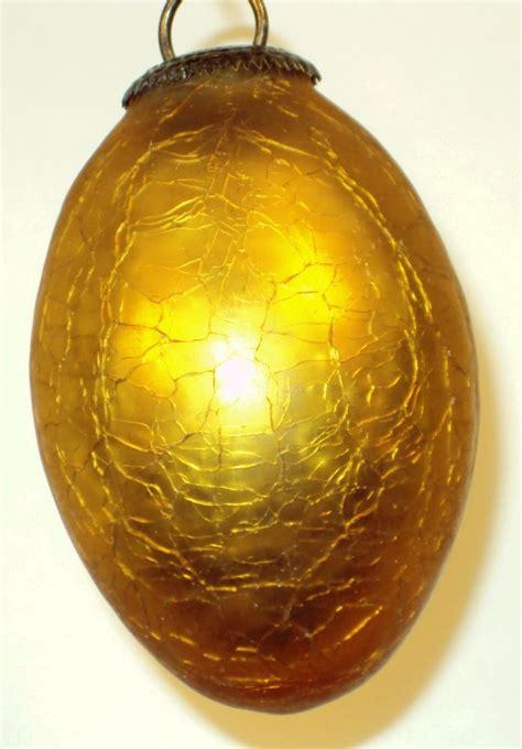 gold glass kugel christmas ornament from rlreproshop on