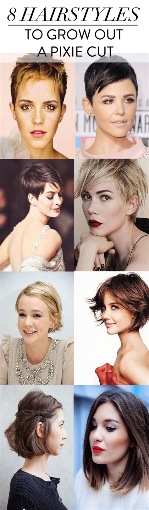 Hairstyles For Growing Out A Pixie Cut by How To Grow Out A Pixie Cut Charmingly Styled