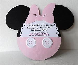 Make Your Own Invitations For Free Printable Baby Minnie Mouse Invitations