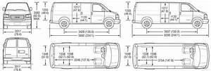 Superb Cargo Van Interior Dimensions  3 Chevy Express
