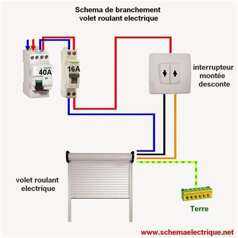schema electrique volet roulant norme dinstallation
