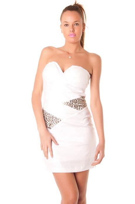 robe bustier blanche courte mariage robe bustier courte blanche