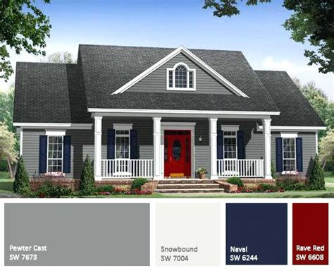 exterior house color combinations pictures trends
