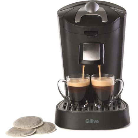 machine à café grande capacité pour collectivités et bureaux cafetiere à dosette q5014 qilive pas cher à prix auchan