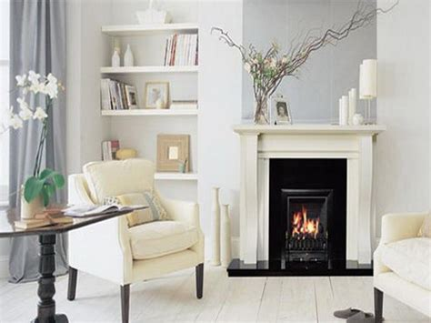 livingroom fireplace white fireplace in living room designs your home