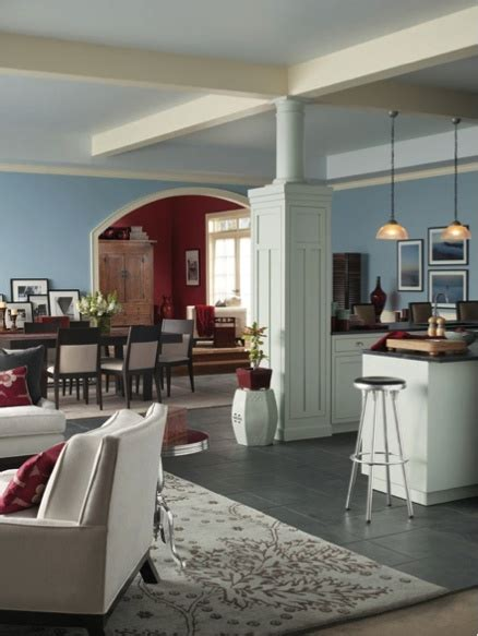 Most Popular Dining Room Paint Colors by Sherwin Williams Something Blue Sw 6800 Dining Room