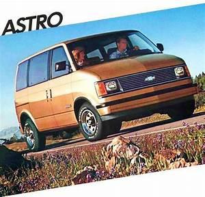Buy 1986 Chevy Astro Passenger Van Brochure