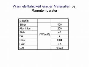 Temperaturgradient Berechnen : energie in form von w rme ppt herunterladen ~ Themetempest.com Abrechnung