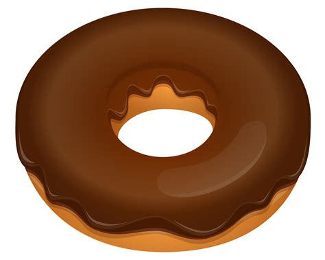 Donut Clipart Chocolate Donut Clipart Clip Of Chocolate Clipart