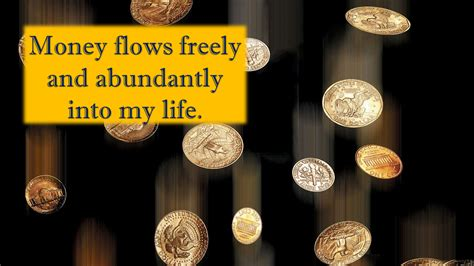 money affirmations everyday affirmations