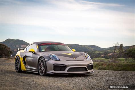 Vorsteiner Porsche Cayman Gt4 Layered Graphics  Ki Studios