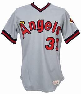Lot Detail - 1982 Luis Tiant California Angels Game Worn ...