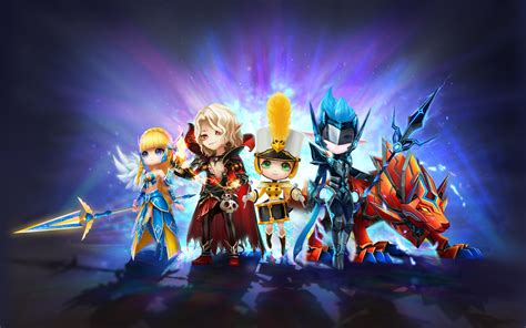 summoners war sky arena  hd games  wallpapers