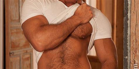 swarthy hairy chested spaniard denis vega naked men sex pics