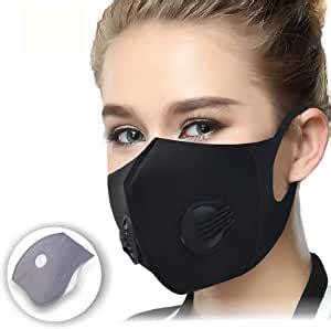 Amazon.com: CFORWARD Dustproof Mask Face Mask Activated