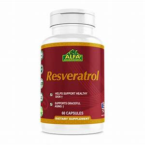 Resveratrol Supplement 500 Mg  U2013 Alfa Vitamins Store