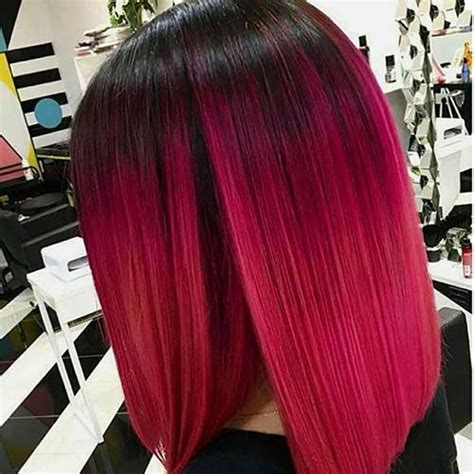unique colored bob hairstyles    bob hairstyles  short hairstyles  women