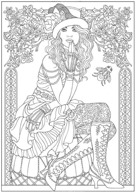 Omeletozeu (With images) | Fashion coloring book