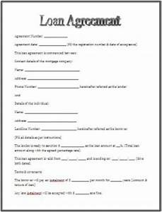 loan agreement template agreement templates loan With personal loan with minimum documentation