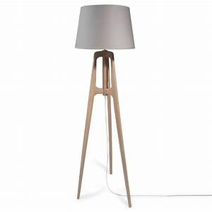 Lampadaire Maison Du Monde : lampadaire tr pied en bois h 160 cm molly maisons du monde ~ Premium-room.com Idées de Décoration