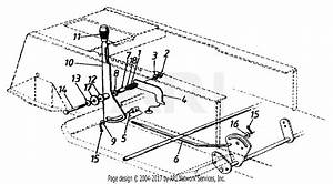 Mtd 13ch660f022  2001  Parts Diagram For Gear Selector