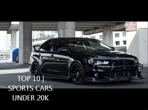 sport cars for 20000 top 10 sports cars 20k