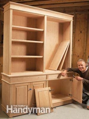 bookcases pro shortcut  diy furniture makers