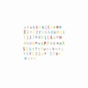 Lettre Pour Lightbox : set de lettres funky couleurs pour lightbox ~ Teatrodelosmanantiales.com Idées de Décoration