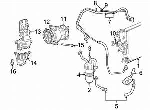 Jeep Compass Valve  Conditioning  Air   A  C   Line   Lower
