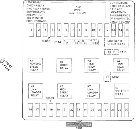 1987 Bmw 325 Fuse Box Diagram by Wrg 3991 1987 Bmw 325i Fuse Box Layout