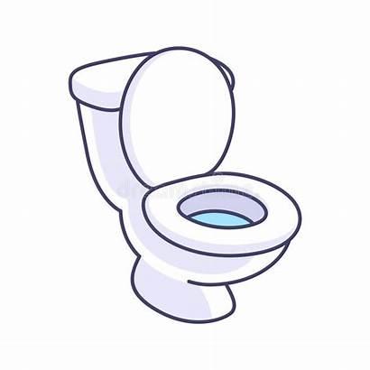 Toilet Cartoon Bowl Drawing Clip 卡通 Simple