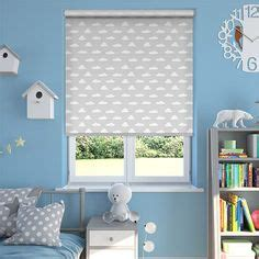 Go back eyelet curtains are another smart and modern alternative. Grey Cloud Roller Blind - this would be lovely for a ...