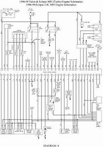 Automotive Wiring Diagram 1998 Mitsubishi Eclipse R