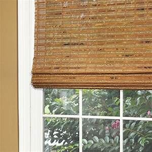 lewis hyman 0215446 havana bamboo roman shade 46 inch With 26 inch wide roman shades