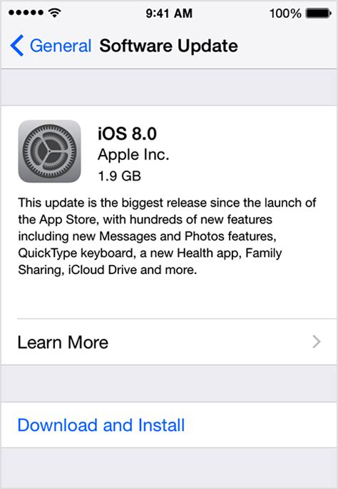 software update iphone update the ios software on your iphone and ipod