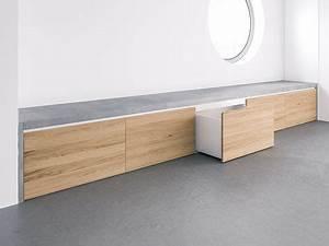 Moderne Garderobe Mit Bank : beton sitzbank covo mit integriertem stauraum f r den flur wohnbereich infos unter http ~ Bigdaddyawards.com Haus und Dekorationen