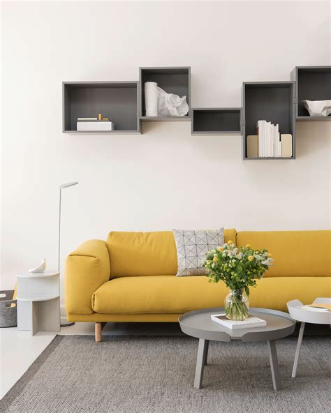 A Colorful Modern Home Designed With Usability In Mind by Colorful Living Room Inspiration With The Yellow Sofa