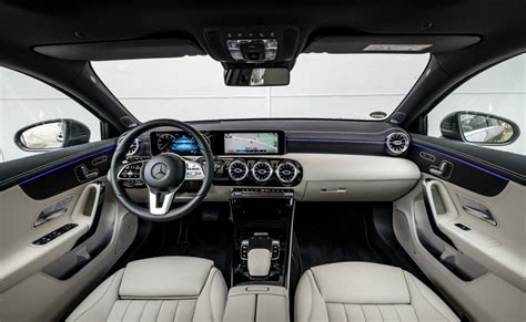 This is just as unique in this category as the selection of trim elements and ambient lighting to stage every detail perfectly. 2018 Mercedes-Benz A-Class is in a class of its own   Torque