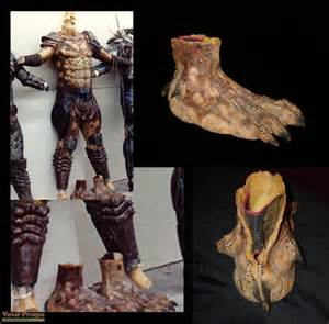 Predator 2 Snake Predator Right Foot Original Movie Prop