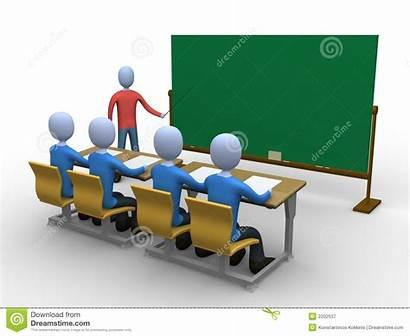 Klassenzimmer Lehrer Platz