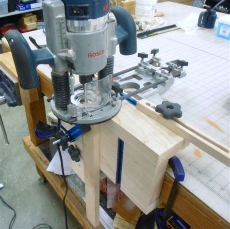 loose tenon mortise jig woodworking talk woodworkers